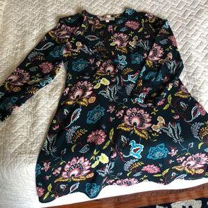 Floral Fall LOFT Dress